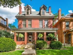 c. 1888 All brick, extra wide lot!