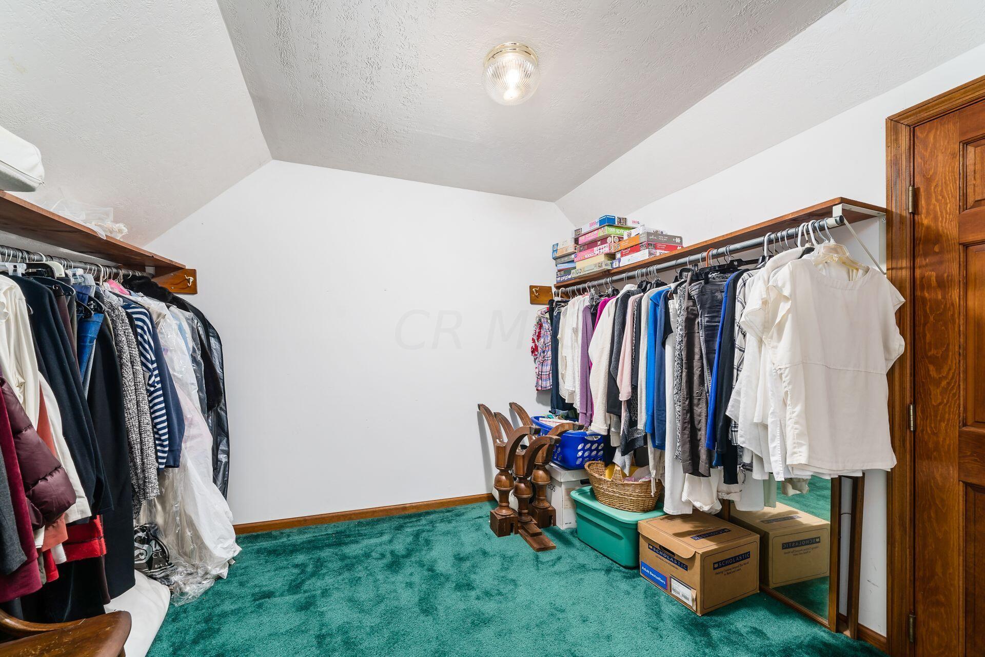 Walk in closet for bedroom 5