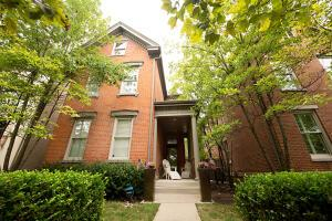 Welcome to 866 South High Street. Freestanding condo in Treetops of German Village.