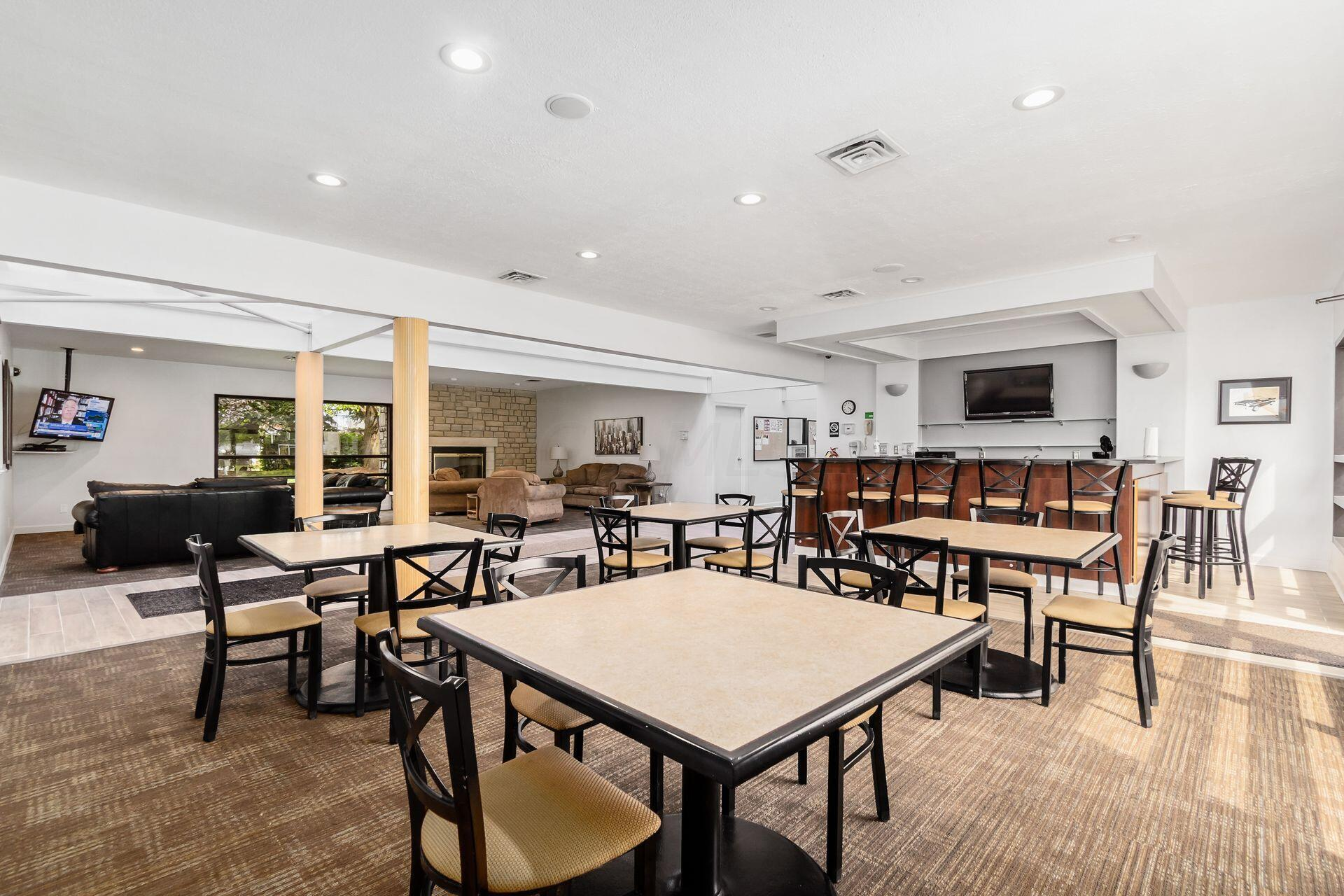 Clubhouse Dining Area