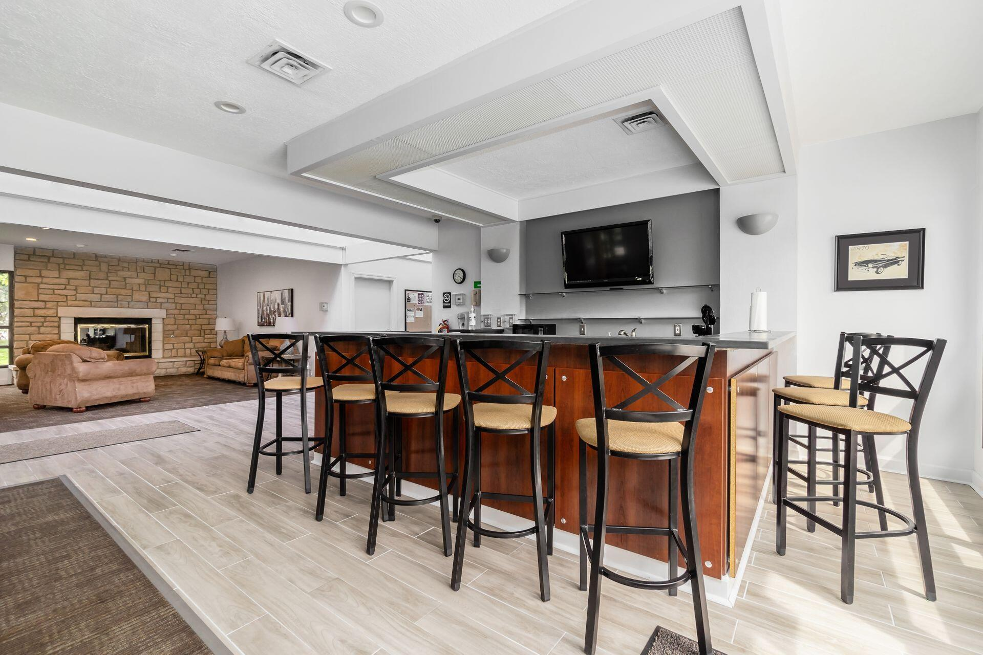 Clubhouse Kitchenette