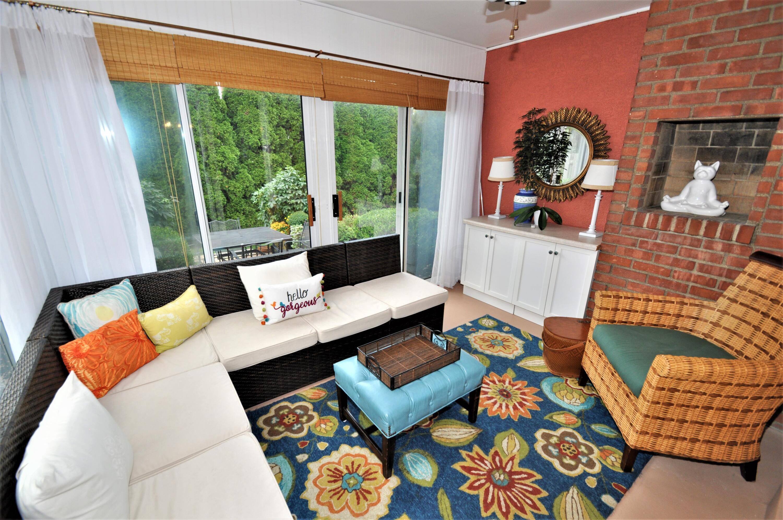 Florida Room overlooks & opens to Patio
