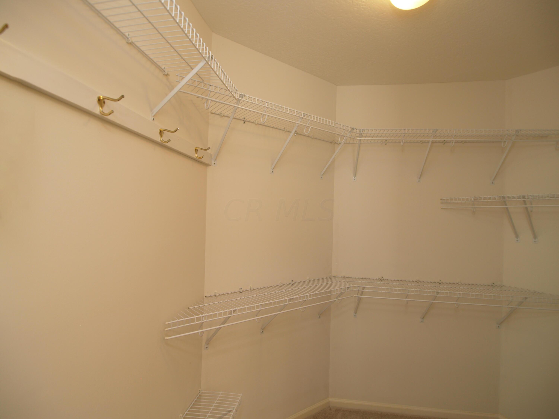 Owner walk-in Closet