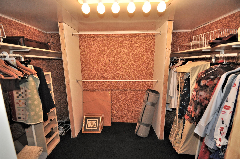 10' x 7' Cedar Closet off Storage Rm
