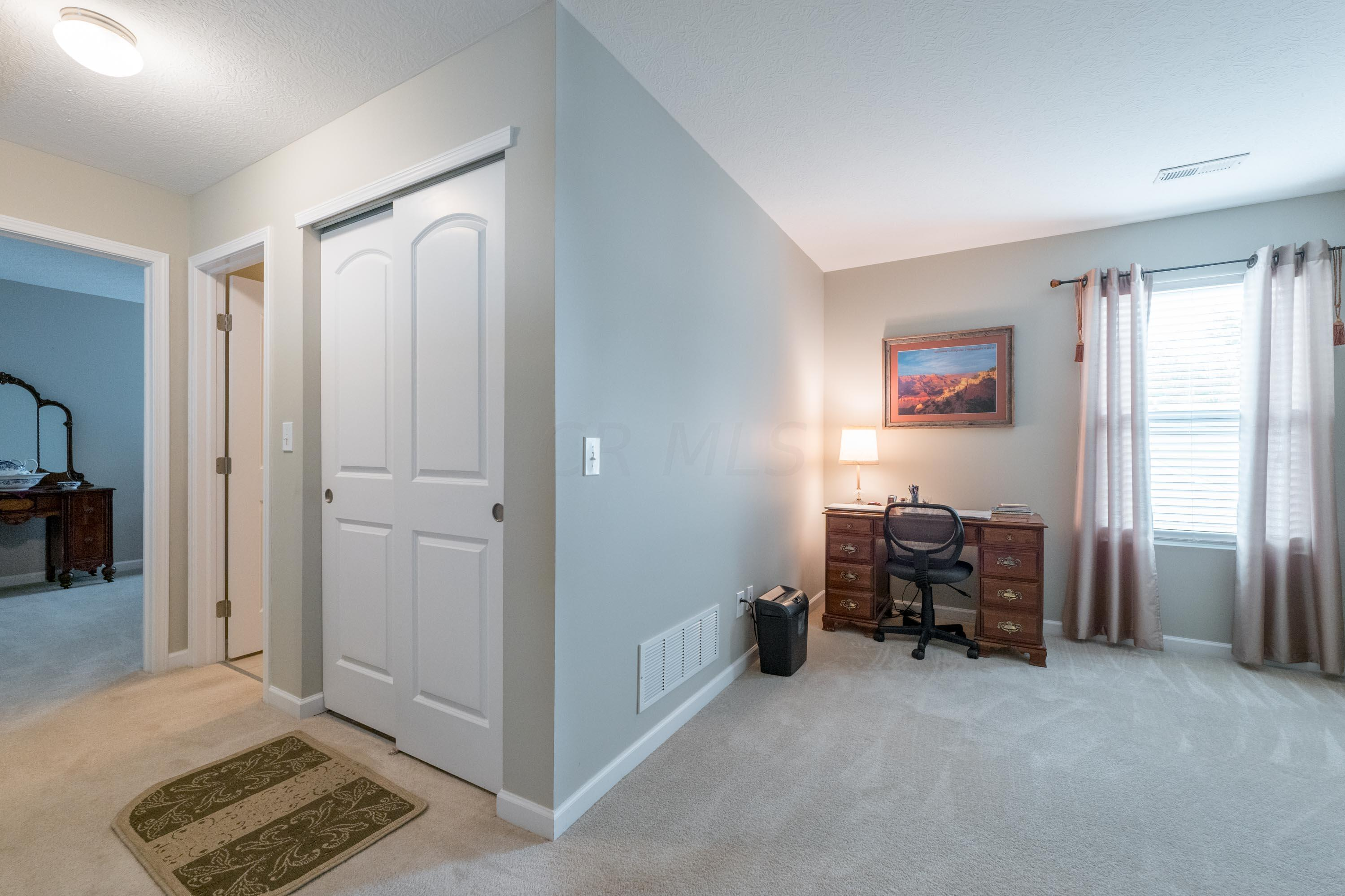 Easily converted to 3rd bedroom