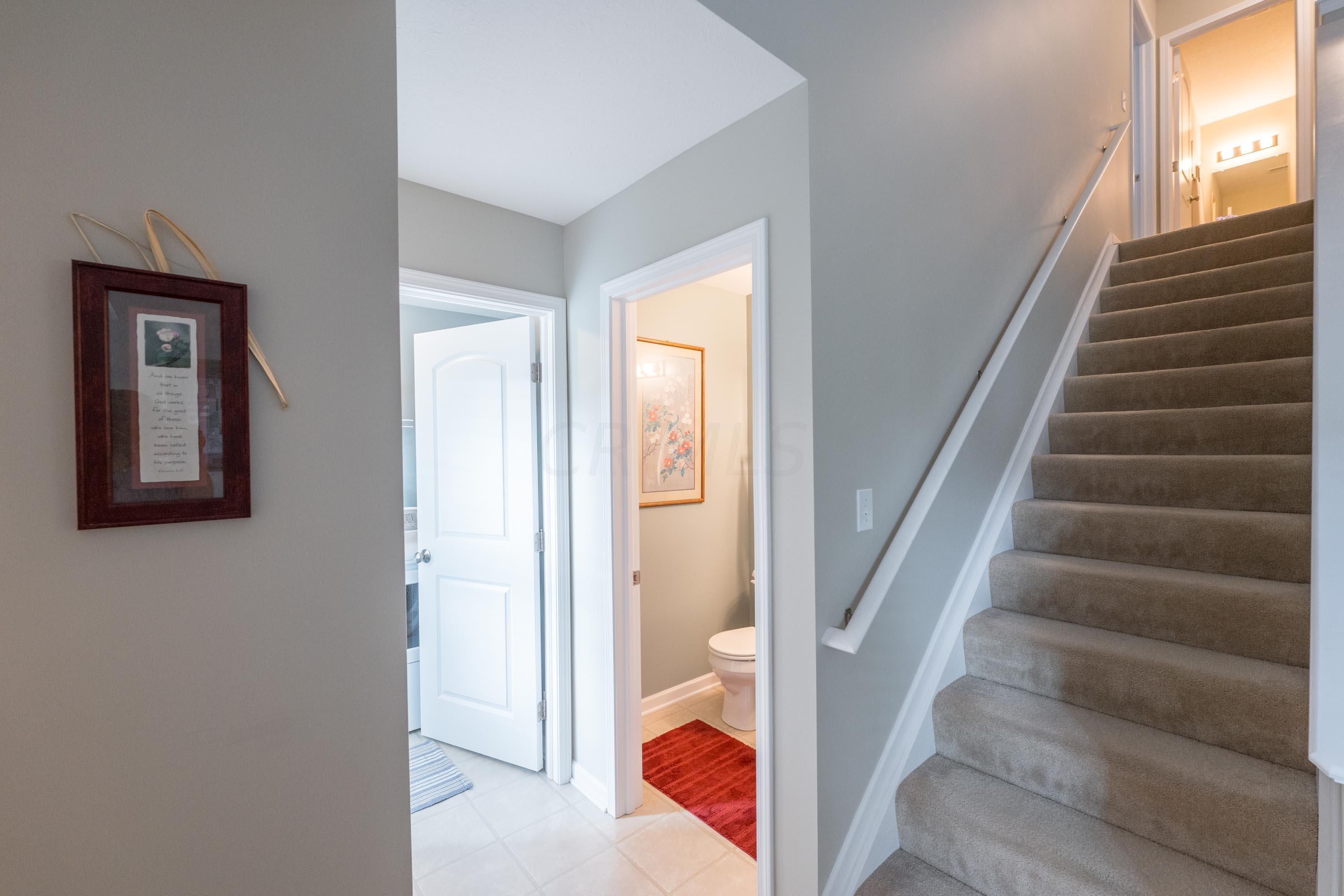 First Floor Front Hallway