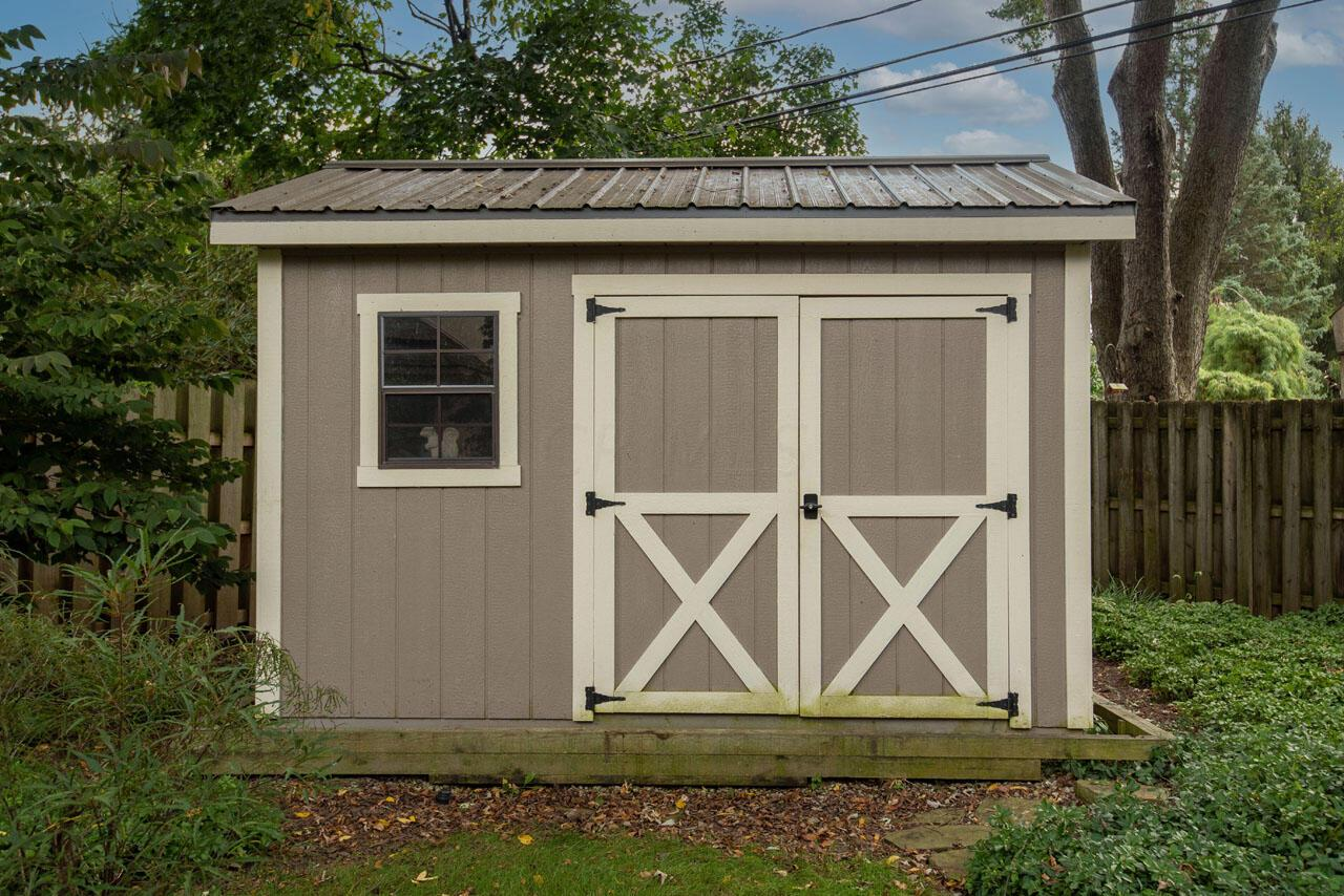 Spacious Storage in Garden Shed
