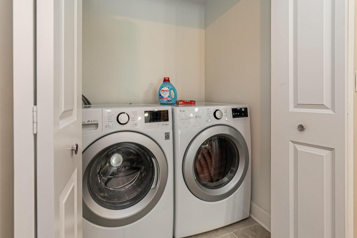 Second Floor Laundry