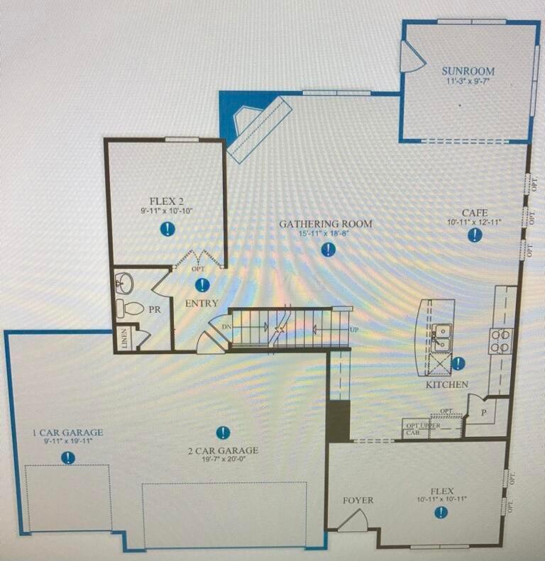 125 Copland - 1st Floor Plan