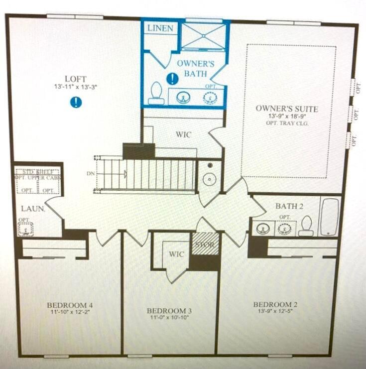 125 Copland - 2nd Floor Plan