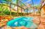 Your private saltwater heated pool & spa and screened lanai