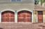 Two Car Garage with upgraded garage doors