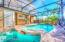 Saltwater Heated Pool and Spa with Enclosure
