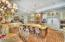 Elegantly designed kitchen.