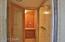 Walk-in shower. 2 person sauna.