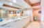 Master Bath- Marble- European cabinetry soft close