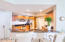 Breakfast Bar with Mother of Pearl kick wall