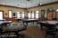 Billiards and poker room