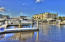 Well maintained floating docks.
