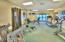 Beach house fitness center with ocean front views!
