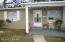 A unit front porch