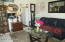 A unit living room
