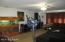 Unit B living room