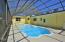 Inground screened pool