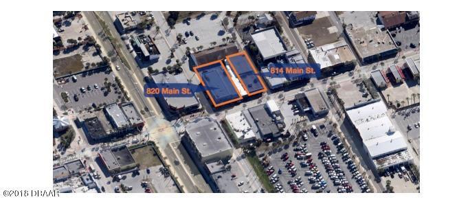 Listing Details for 814 Main Street, Daytona Beach, FL 32118