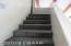 Stairway leading to Family room on 2nd Floor