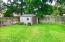 back yard shed