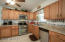 Maytag Kitchen, updated Maple Cabinets, Counters