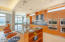 Whether whipping up a dinner for the family or a catered affair, this kitchen has it all!