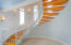 Ground Floor staircase inspired by the Nautilus Shell.