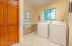 Large Inside Laundry room with Sink and plenty of storage