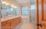 Owners Bath with Garden Tub and Separate Shower/Double Vanity