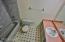 Full bathroom with tub/shower.