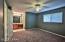 Master bedroom suite has new carpet.