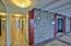 Hallway to 2nd bedroom suite & laundry room.