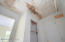 Bedroom closet - roof leak