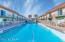 Swim laps in the morning