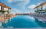 Beautiful pool steps from your unit
