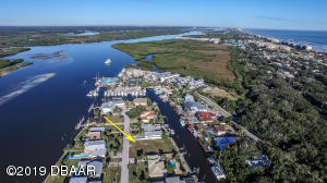 120 Ponce Inlet Circle waterfront building lot.