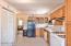 Upper unit kitchen.