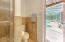 Pool bath eliminates wet feet tracking through the house