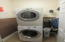 Indoor utility room washer and dryer included