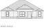 Drawing of Proposed Elevation of House.