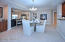 Dining Rm w/ pass through to kitchen and wet bar area