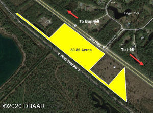 0 US 1 (30.89AC) Highway, Bunnell, FL 32110