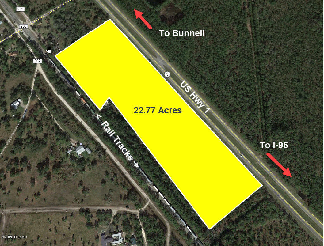 Details for 0 Us 1  (22.77 Ac) Highway, Bunnell, FL 32110